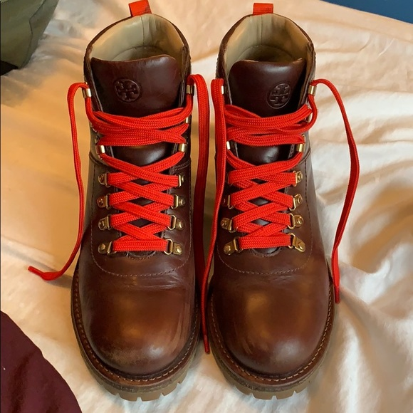 e2f0a3190c7 Tory Burch hiking boots. M 5c5dd754951996d90e5e442c